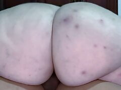 SSBBW GOES FOR A CLOSE-UP RIDE ON BBC