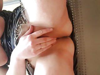 masturbating with dildo in public dressing room