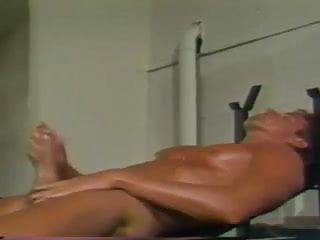 Massive self facial after jacking off...