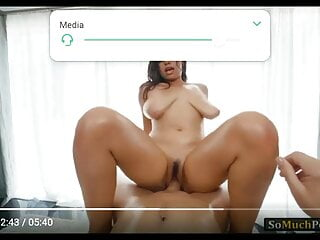 Erotic video is babe