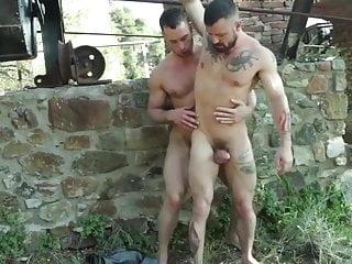 Stas Landon and Sergeant Miles