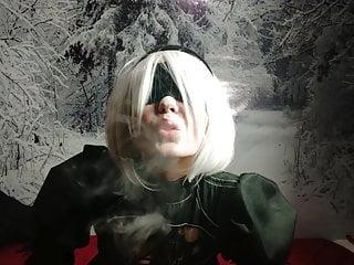 Nier Automata – 2B Smoke