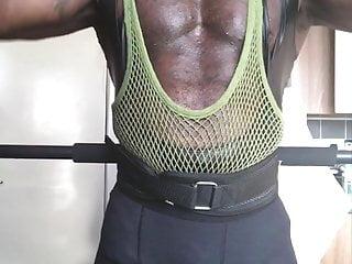 Testosterone Fuelled Workout: Pornbate & Bust