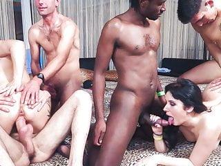 LETSDOEIT Festa interrazziale di sesso anale con ragazze europee