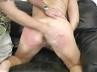 Blonde Milf Getting Her Ass Spanked Very Hard