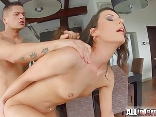 Meaty pussy filled with...