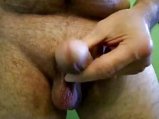 jackmeoffnow curved thick dick erection jack n pre-cum play
