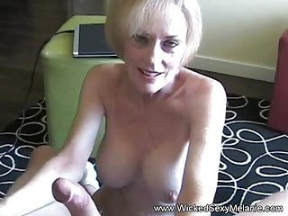 Fooling around with hot blonde big tit...