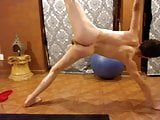 Cute Twink Erotic Yoga