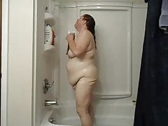 Big Fat Pig Takes a Shower