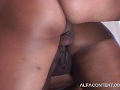 Big ass and cunt fucked in the bedroom