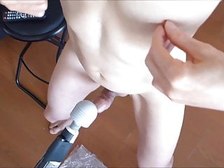 Moanign loves to get and self edging...