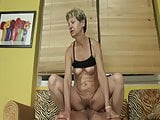 Grandma caught masturbating with vibrator