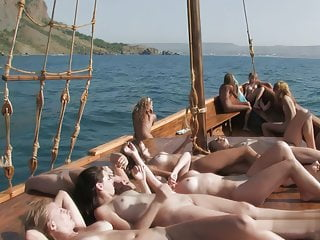 Naked Teenagers on Boat complete Vid # four higher Quali