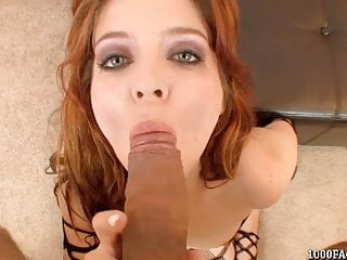 Jessi Palmer Gives A Blowjob And Gets A Cum Facial