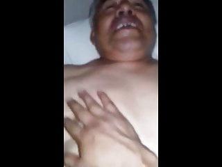 Latino Daddy Bear Loves Being Fucking