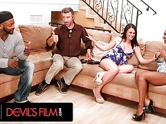 DevilsFilm – Rich Neighbors Swap Wives During Football Game