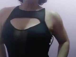 Fit Mature Latina Changing Clothes