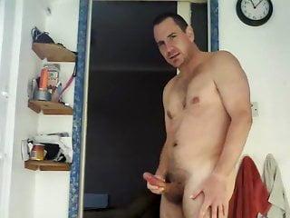 STR8 DADDYJERKS HIS COCK