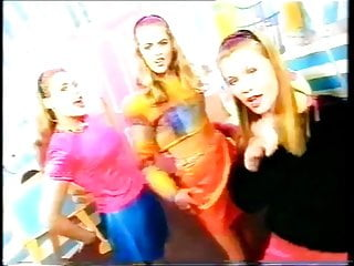 Donna Air and friends satin 90s clothes