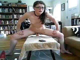 Web cam anal brunet dildo 1...