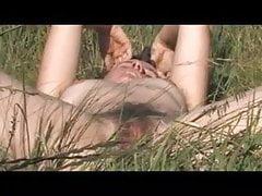 outdoor strip and masturbation