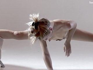 Russian hot hairy gymnast rita mochalkina...