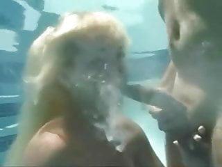 Underwater surprise blowjob...