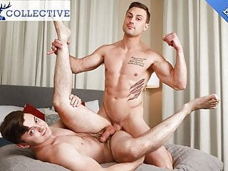 Straight Dude Damien White First Gay Blowjob