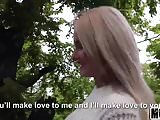 Blonde Hottie Fucks Outdoors video starring Aisha - Mofos
