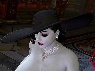 lady Dimitrescu  Resident Evil 8 SFM