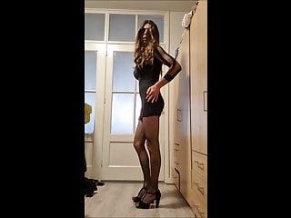 sissyhusband solo posing and dildo fuck 1