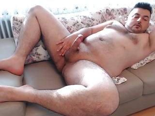 Masturbation Horny Cumshot with Hot Moans