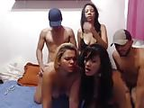 big asses 3 latin bitches party sex