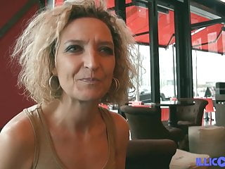 Bea Blonde Cougar With Big Tits Loves To Eat Cock Black