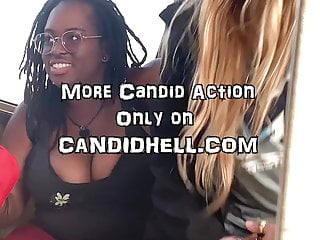 hot cocoa tits on the train - candid boobiesHD Sex Videos