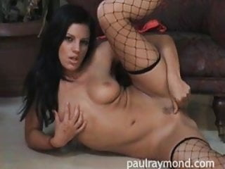 PaulRaymond babe Evelyn from Escort Magazine