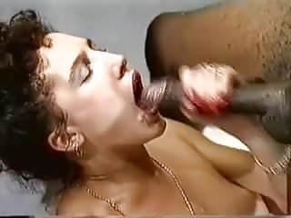 Retro eurobrunette interracial anal...