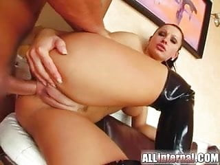 All internal double ass fucking and anal creampie...