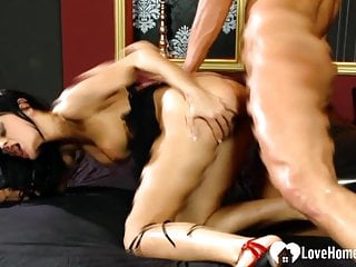 Seductive lover will get a dick within her