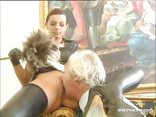 Lee nover real quickie with kinky maid alexandra...