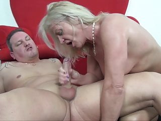 Hot stepson by her granny assfucked