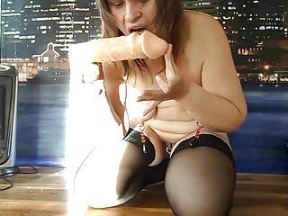 Russian mature slave alexandra show...