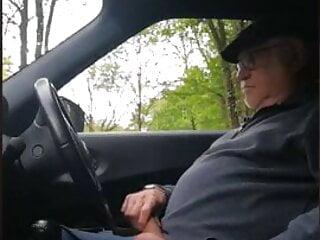 grandpa stroke in car