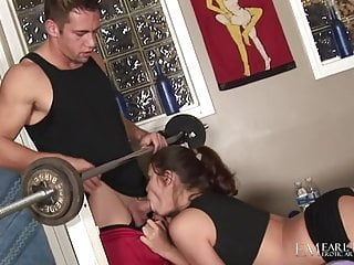 Hot Babe Izzy Bella Muff Stuffed By Big Cock Johnny Castle!