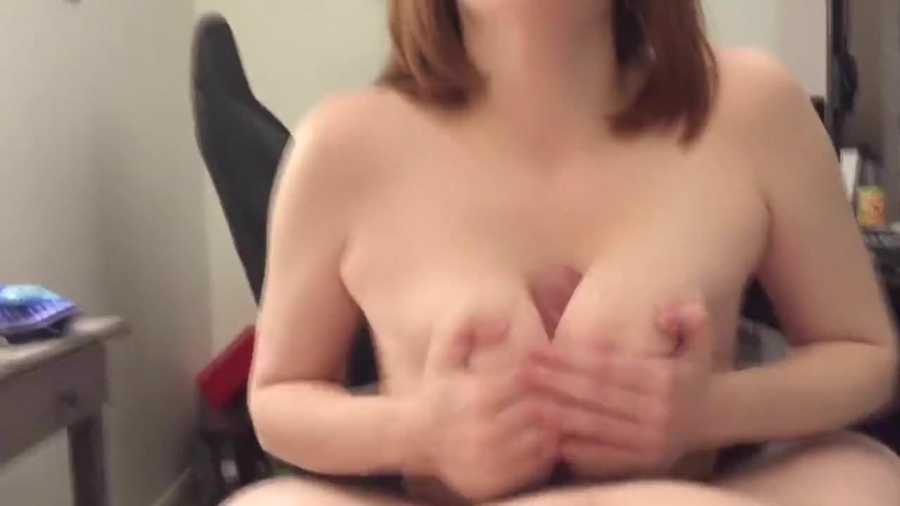 Chubby Big Tits Riding Pov