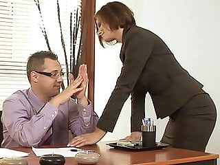 In need of sex Stepmom Visits Stepson In The Workplace