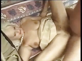 Granny Marianne fuck in swing