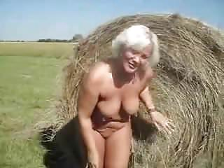 peeing granny