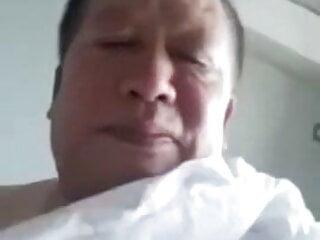 Chinese daddy cum